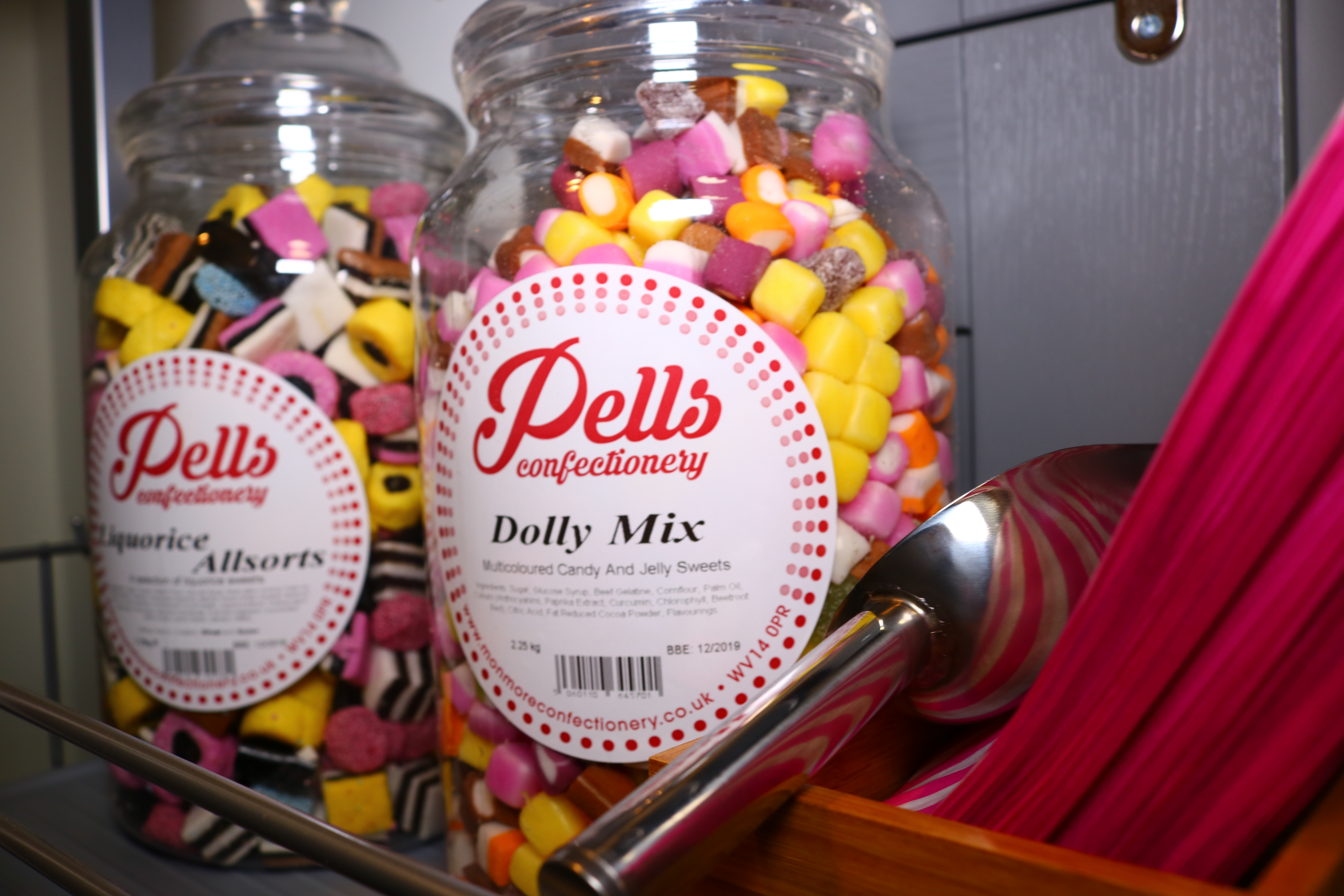 Resident Sweet shop at Buddleia House